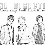 Kleurplaten Van One Direction.One Direction Kleurplaten Maison Mansion
