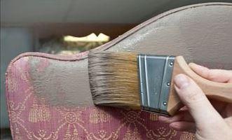 Leren Stoel Verven : Verf je stoffen stoel of leren bank met krijtverf u2013 maison mansion