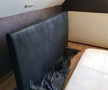 stof verven met krijtverf, bedboard verven met maisonmansion