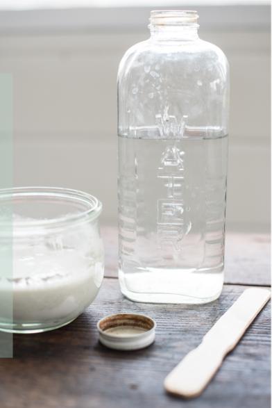Hoe maak je de mix van miss mustard seed's milk paint