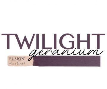 Twilight geranium Fusion  paint maisonmansion